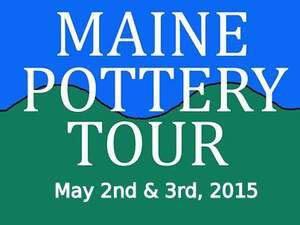 Maine Pottery Tour postcard 2015