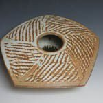 Handmade stoneware bowl