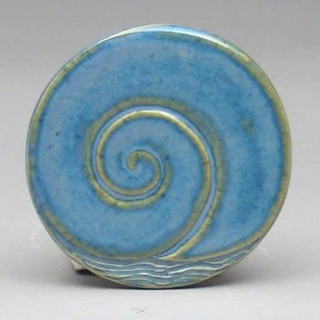 Blue Nautilus Coaster