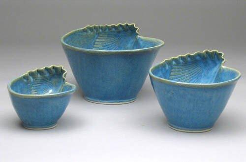 Blue shell bowls