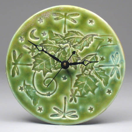 Green Autumn Clock