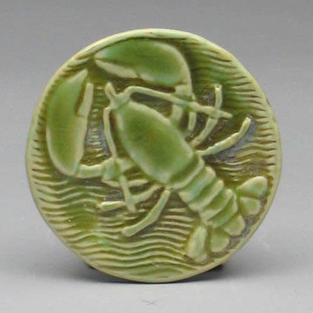 Green Lobster Coaster