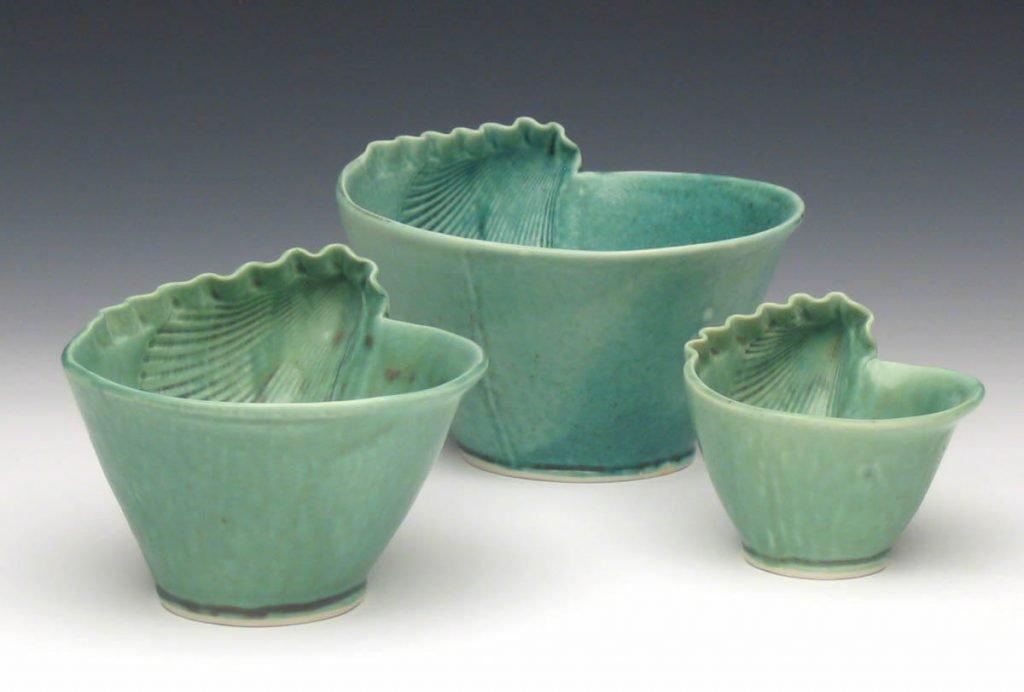 Green shell bowls
